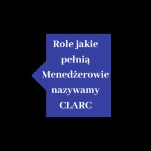 Role, jakie pełnią menedżerowie nazywamy CLARC